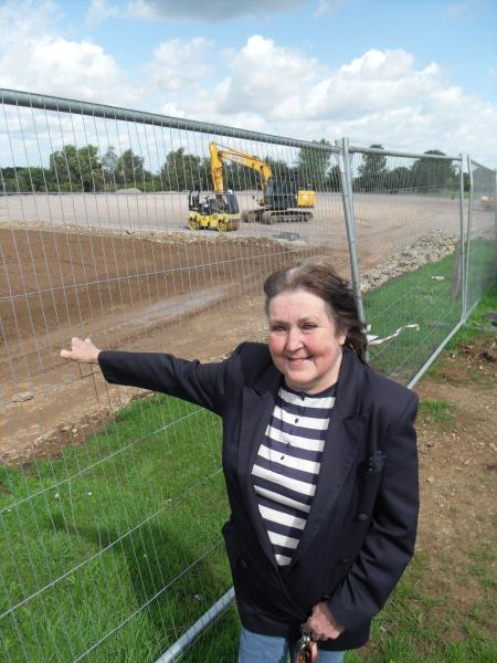 All-weather football pitch at Marlwood School, Alveston