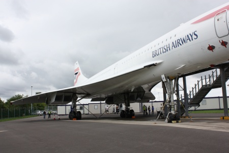 Concorde G-BOAF (216) at Filton, Bristol [photo by Rusty_CallyT2007; licence: cc-attr-2.0-generic]