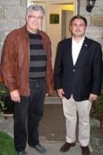 Jack Lopresti MP with Alun Evans