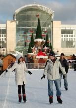 Ice skating at The Mall, Cribbs Causeway