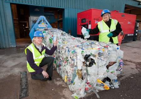 South Gloucestershire plastic bottle recycling