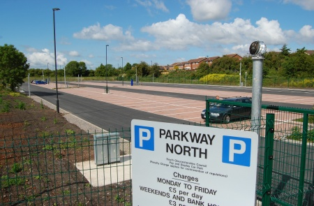 Parkway North park and ride, Stoke Gifford, Bristol
