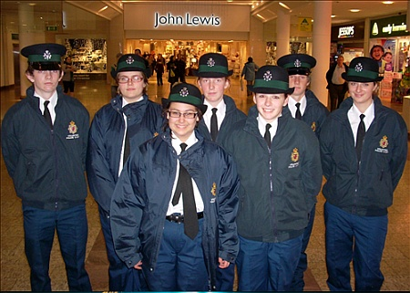 South Gloucestershire Volunteer Police Cadets at The Mall