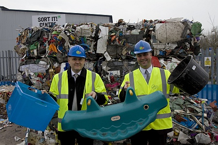 Rigid plastic recycling in South Gloucestershire