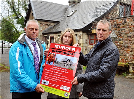 Barry Rubery murder poster.