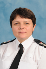 Chief Superintendent Sarah Crew, District Commander of South Gloucestershire.