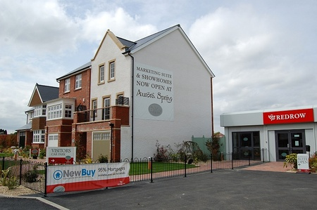 Redrow's Aurora Spring development in Cheswick Village, North Bristol.