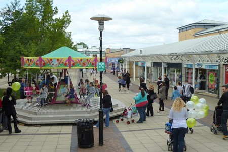 Yate Shopping Centre.