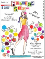 Chipping Sodbury charity fashion show.