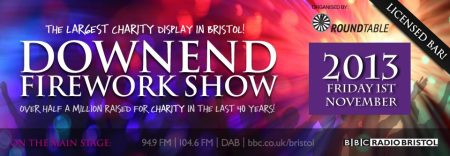 Downend Firework Show 2013.