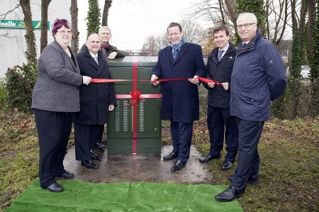 Superfast broadband switch-on in North Road, Yate.