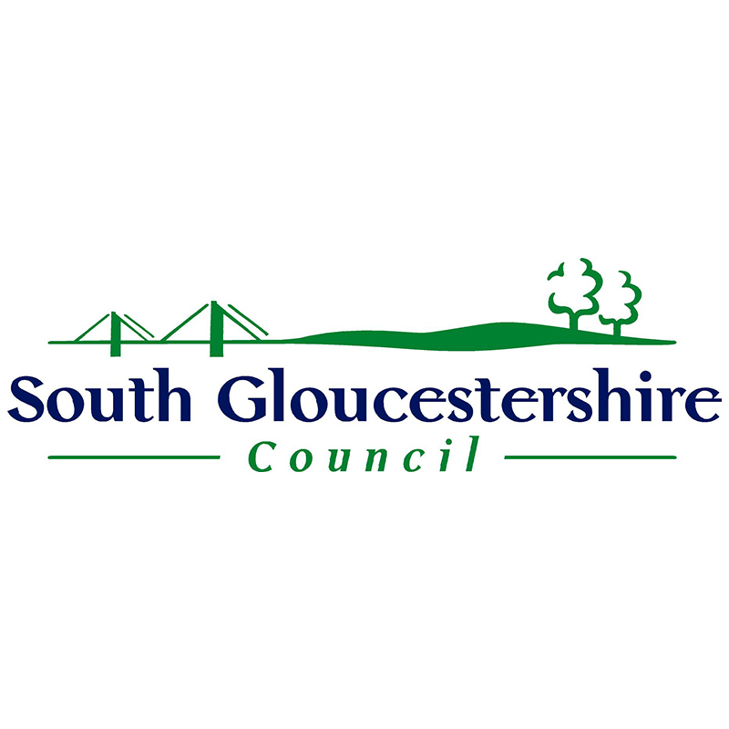 Logo of South Gloucestershire Council.