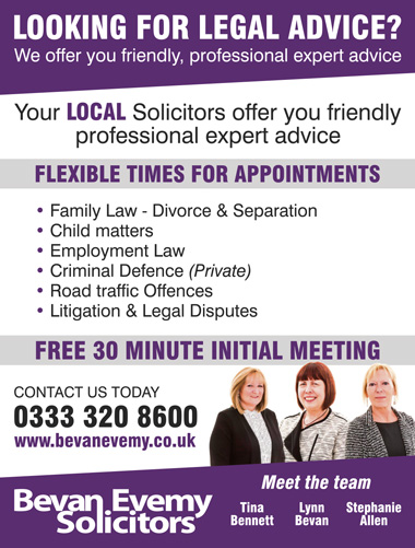 Bevan Evemy: Solictors in Bristol & South Gloucestershire.