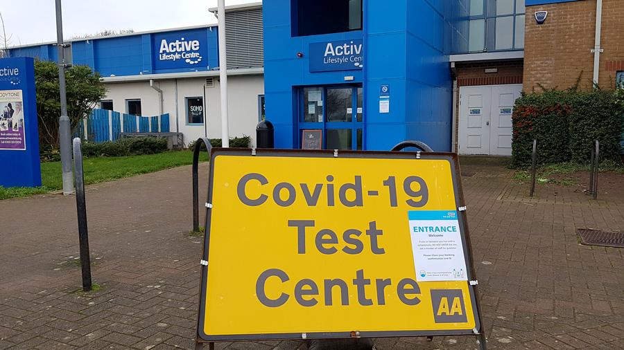 Photo of Bradley Stoke Leisure Centre.
