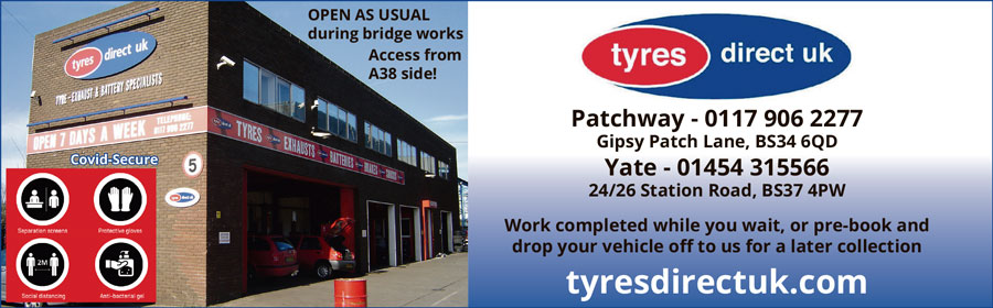 Tyres Direct UK, Patchway and Yate.